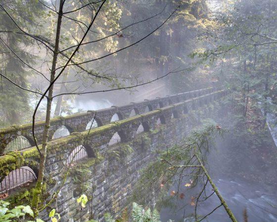 Whatcom Falls Bridge, Bellingham