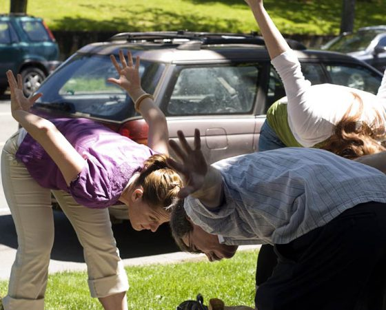 Students Body Movement Exercises