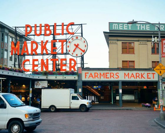 Public Market Downtown Seattle
