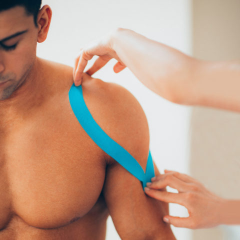 Kinesiology Tape and Massage Therapy