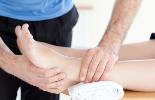 Seattle massage school foot massage
